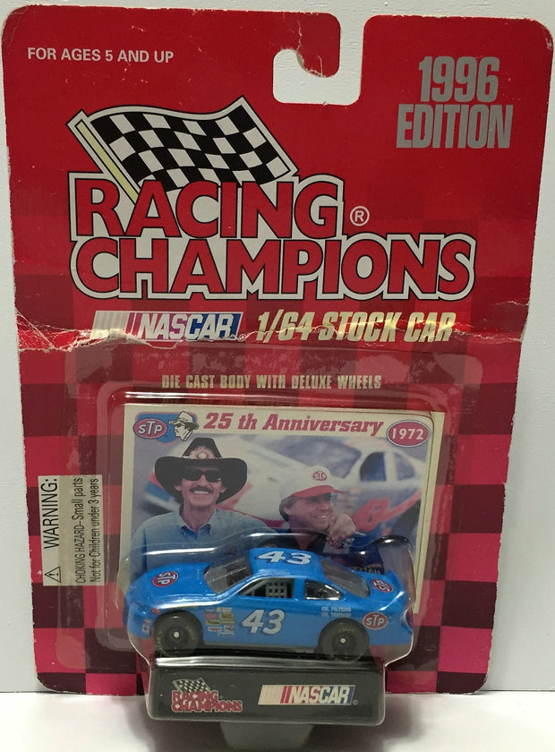 (TAS035108) - 1996 Racing Champions Die-Cast Car - Richard Petty #43 sTp, , Trucks & Cars, NASCAR, The Angry Spider Vintage Toys & Collectibles Store  - 1