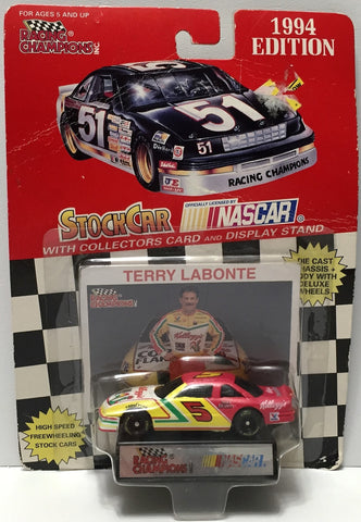 (TAS035109) - 1994 Racing Champions Die-Cast Car - Terry Labonte #5 Kellogg's, , Trucks & Cars, NASCAR, The Angry Spider Vintage Toys & Collectibles Store  - 1