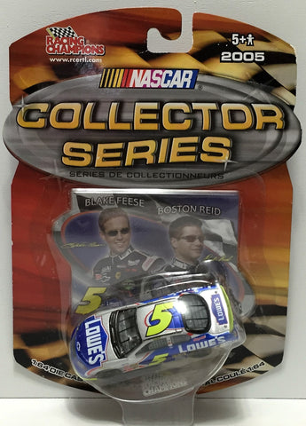 (TAS037104)  - Racing Champions Die-Cast Lowes #5 Blake Feese / Boston Reid