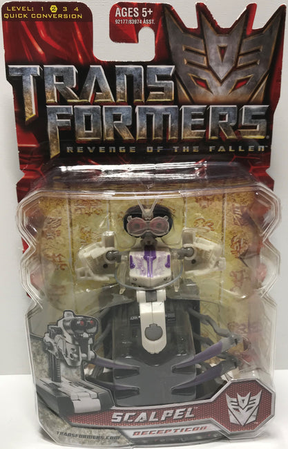 TAS037737 - 2008 Hasbro Transformers Revenge of the Fallen - Scalpel
