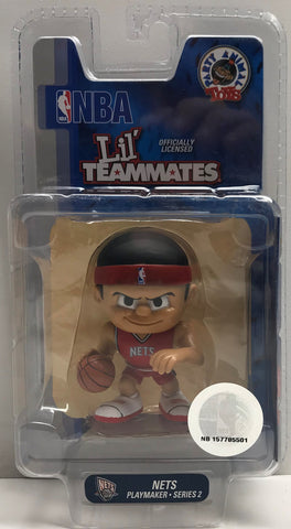 TAS038543 - 2011 Party Animal Toys NBA Lil' Teammates New Jersey Nets