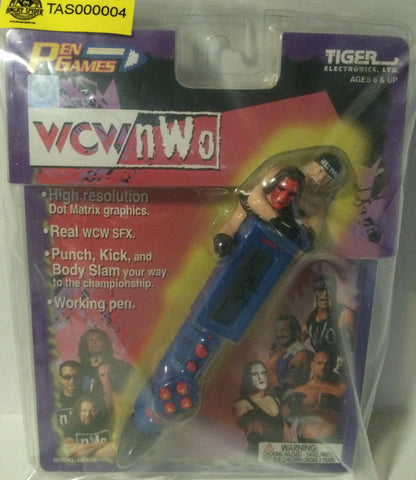 (TAS000004) - Tiger Electronics WCW nWo Wrestling Pen Games - Hogan & Sting, , Games, Wrestling, The Angry Spider Vintage Toys & Collectibles Store