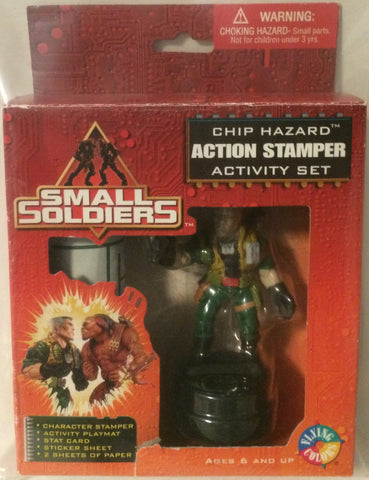 (TAS000006) - Small Soldiers Action Stamper Set Activity Set - Chip Hazard, , Stampers, Small Soldiers, The Angry Spider Vintage Toys & Collectibles Store