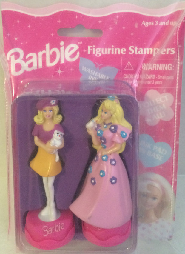 (TAS000015) - Barbie Figurine Stampers - 2 Pack, , Stampers, Barbie, The Angry Spider Vintage Toys & Collectibles Store