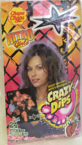 (TAS000066) - Chupa Chups WCW WWF Crazy Dips - Nitro Girls, , Other, Wrestling, The Angry Spider Vintage Toys & Collectibles Store