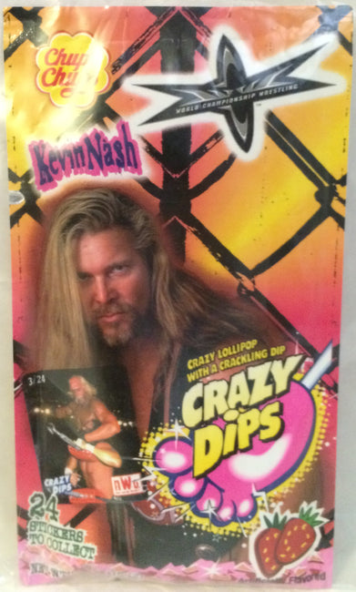 (TAS000067) - Chupa Chups WCW WWF Crazy Dips - Kevin Nash, , Other, Wrestling, The Angry Spider Vintage Toys & Collectibles Store