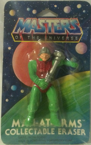 (TAS000070) - Masters of the Universe Man-At-Arms Collectable Eraser, , Eraser, MOTU, The Angry Spider Vintage Toys & Collectibles Store