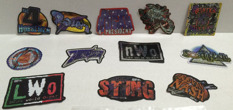 (TAS000099) - 1999 Parkway WCW nWo Wrestling Foil Sticker Set, , Stickers, Wrestling, The Angry Spider Vintage Toys & Collectibles Store