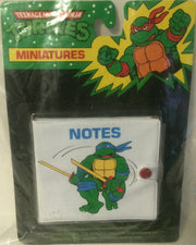 (TAS000103) - Mirage Studio Teenage Mutant Ninja Turtles Miniatures Notes, , Other, TMNT, The Angry Spider Vintage Toys & Collectibles Store
