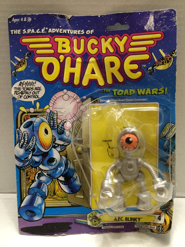 (TAS000113) - 1990 Hasbro Bucky O'Hare The Toad Wars! - A.F.C. Blinky, , Action Figure, Hasbro, The Angry Spider Vintage Toys & Collectibles Store  - 1