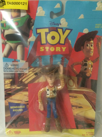 (TAS000121) - Disney Toy Story Bendable Action Figure - Woody, , Action Figure, Disney, The Angry Spider Vintage Toys & Collectibles Store