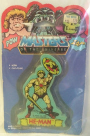 (TAS000174) - 1984 Spindex - Masters of the Universe Eraser - He-Man, , Eraser, MOTU, The Angry Spider Vintage Toys & Collectibles Store