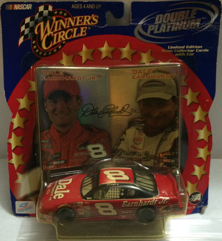 (TAS000186) - 2001 Winner's Circle Double Platinum Die-Cast - Dale Earnhardt Jr, , Cars, Winner's Circle, The Angry Spider Vintage Toys & Collectibles Store