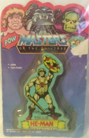 (TAS000205) - Masters of the Universe Eraser - He-Man, , Eraser, MOTU, The Angry Spider Vintage Toys & Collectibles Store