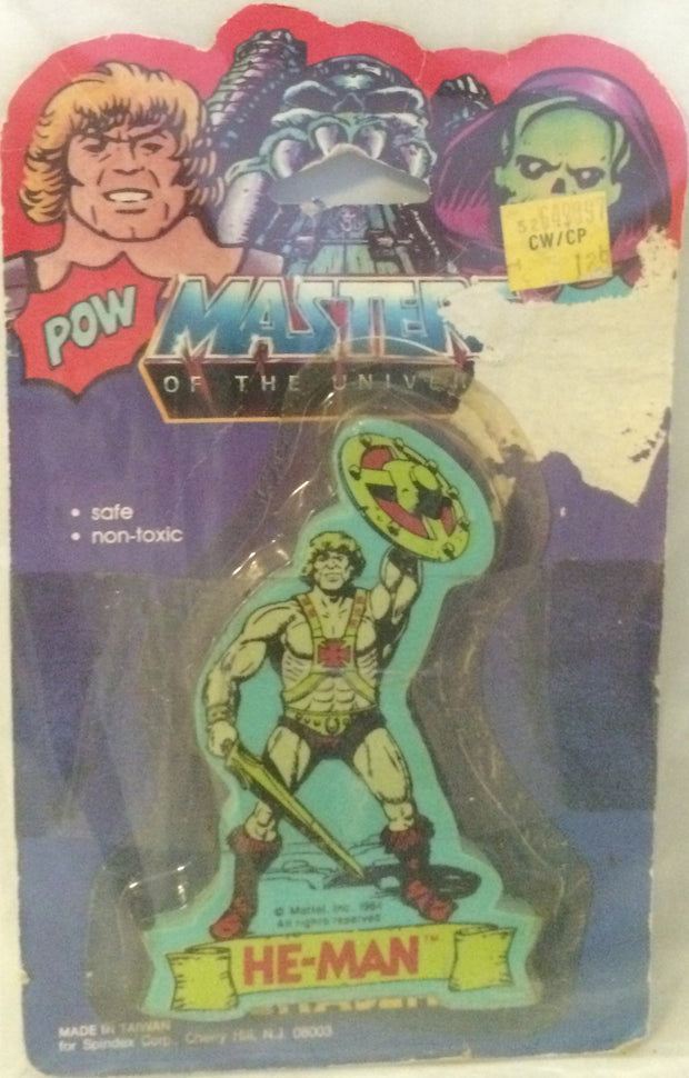 (TAS000261) - Masters of the Universe Eraser - He-Man, , Eraser, MOTU, The Angry Spider Vintage Toys & Collectibles Store