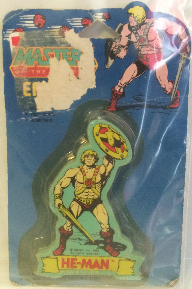 (TAS000283) - Masters of the Universe Eraser - He-Man, , Eraser, MOTU, The Angry Spider Vintage Toys & Collectibles Store