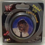 (TAS000303) - 1999 MGA WWF Wrestling Light Up Yo-Yo - Mankind, , Yo-Yo, Wrestling, The Angry Spider Vintage Toys & Collectibles Store