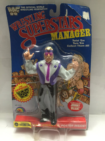 "(TAS000356) - 1985 LJN Wrestling Superstars Manager ""Luscious Johnny V."", , Action Figure, LJN, The Angry Spider Vintage Toys & Collectibles Store  - 1"