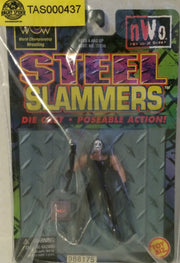 (TAS000437) - WCW WWF nWo Steel Slammer - Sting, , Action Figure, Wrestling, The Angry Spider Vintage Toys & Collectibles Store