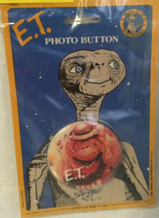 "(TAS000443) - New Star Power ""Out of this World"" Button - E.T., , Button, E.T., The Angry Spider Vintage Toys & Collectibles Store"