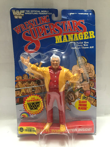 "(TAS000446) - 1985 LJN Wrestling Superstars Manager ""Classy Freddie Blassie"", , Action Figure, LJN, The Angry Spider Vintage Toys & Collectibles Store  - 1"