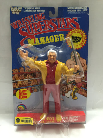 "(TAS000454) - 1985 LJN Wrestling Superstars Manager ""Classy Freddie Blassie"", , Action Figure, LJN, The Angry Spider Vintage Toys & Collectibles Store  - 1"