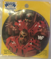 (TAS000539) - WWF WWE Titan Sports LJN Wrestling Button - Legion Of Doom, , Button, Wrestling, The Angry Spider Vintage Toys & Collectibles Store