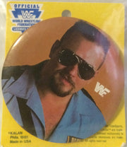 (TAS000577) - New WWF WCW nWo Button - Big Boss Man, , Button, Wrestling, The Angry Spider Vintage Toys & Collectibles Store