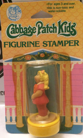 (TAS000736) - 1984 Cabbage Patch Kids Stamper - Blonde Girl with Lollipop, , Stamper, Cabbage Patch Kids, The Angry Spider Vintage Toys & Collectibles Store