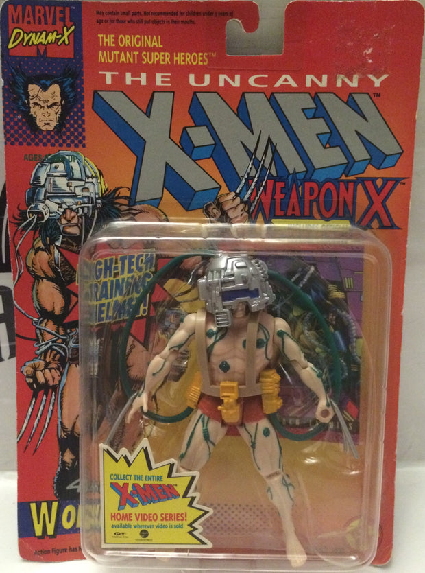 (TAS000746) - 1992 Marvel The Uncanny X-Men Weapon X Figure - Wolverine, , Action Figure, X-Men, The Angry Spider Vintage Toys & Collectibles Store