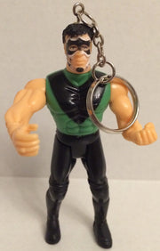 (TAS000766) - WCW ECW Generic Wrestling Keychain - The Hurricane, , Keychain, Wrestling, The Angry Spider Vintage Toys & Collectibles Store