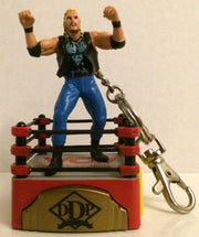 (TAS031994) - Toy Biz WCW Wrestling Electronic Talking Keychain - DDP, , Keychain, Wrestling, The Angry Spider Vintage Toys & Collectibles Store