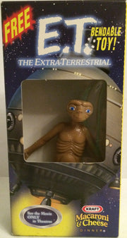 (TAS031995) - Kraft LJN E.T. The Extra-Terrestrial Bendable Toy Figure, , Action Figure, E.T., The Angry Spider Vintage Toys & Collectibles Store