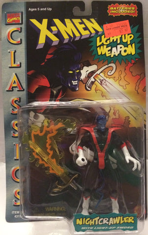 (TAS000822) - 1996 Toy Biz Marvel Comics X-Men Action Figure Nightcrawler, , Action Figure, X-Men, The Angry Spider Vintage Toys & Collectibles Store