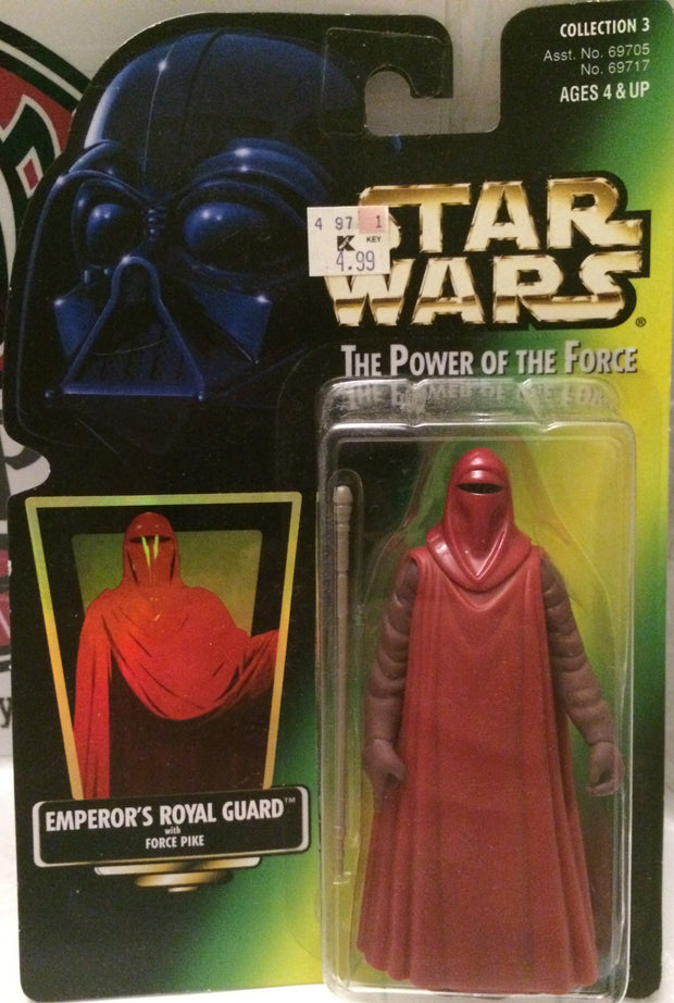 (TAS000847) - 1997 Kenner Star Wars Power of the Force - Emperor's Royal Guard, , Action Figure, Star Wars, The Angry Spider Vintage Toys & Collectibles Store