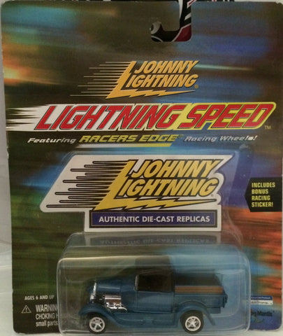 (TAS030223) - Johnny Lightning Racers Edge Die-Cast Replicas Ford Pickup, , Trucks & Cars, Johnny Lightning, The Angry Spider Vintage Toys & Collectibles Store