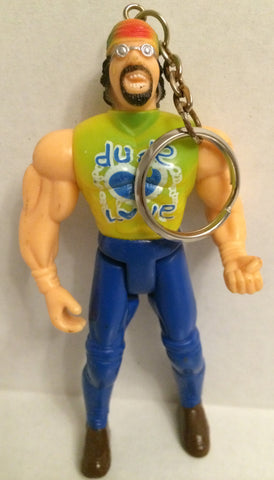 (TAS001108) - WCW ECW Generic Wrestling Keychain - Mick Foley Dude Love, , Keychain, Wrestling, The Angry Spider Vintage Toys & Collectibles Store