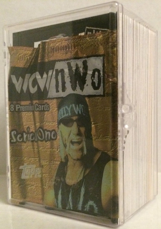 (TAS032004) - Topps WCW nWo Series One Premium Wrestling Cards - Hulk Hogan, , Trading Cards, Wrestling, The Angry Spider Vintage Toys & Collectibles Store
