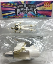 (TAS003010) - 1995 McDonald's Mighty Morphin Power Rangers - White Ranger, , Action Figure, Power Rangers, The Angry Spider Vintage Toys & Collectibles Store  - 1
