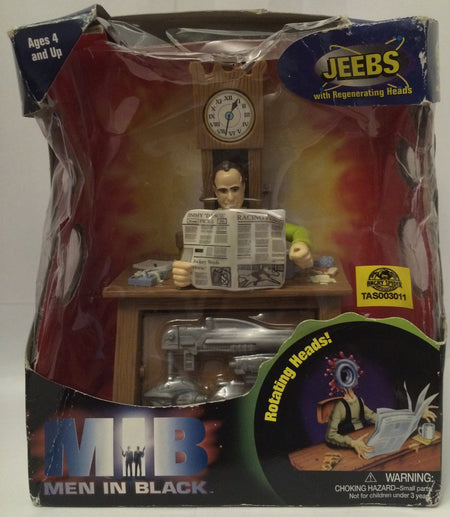 (TAS030148) - 1997 Galoob MIB Men in Black Jeebs With Regenerating Head, , Dolls, Galoob, The Angry Spider Vintage Toys & Collectibles Store  - 1