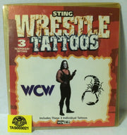 (TAS003021) - WCW WWF nWo Sting Wrestle Tattoos, , tattoo, Wrestling, The Angry Spider Vintage Toys & Collectibles Store