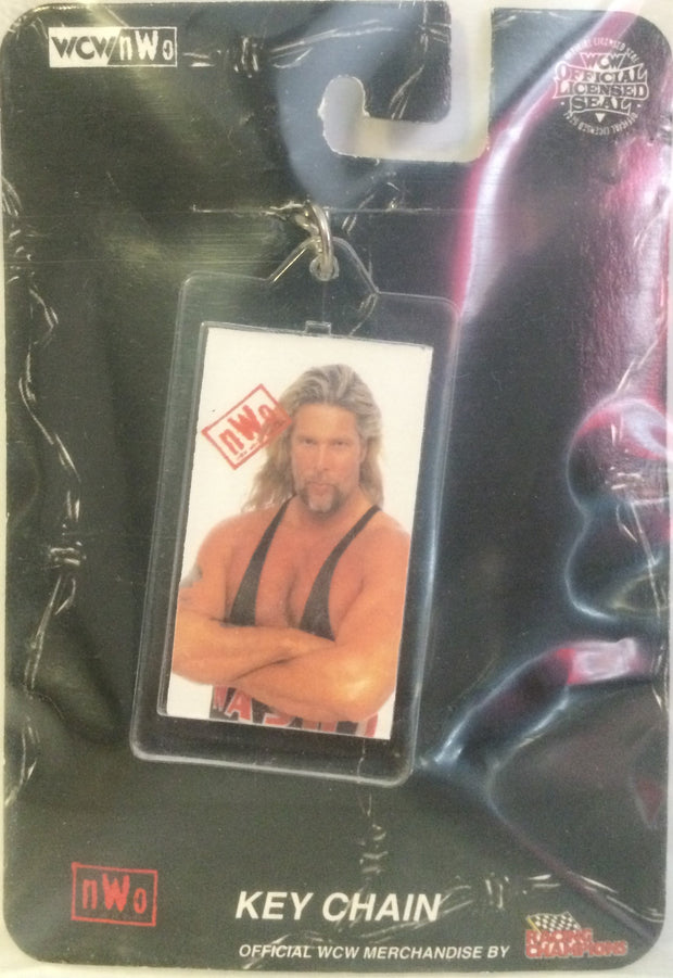 (TAS003026) - WCW WWF nWo WWE New Key Chain - Kevin Nash, , Keychain, Wrestling, The Angry Spider Vintage Toys & Collectibles Store