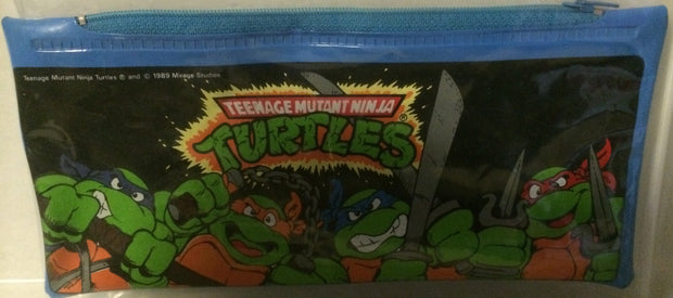 (TAS003030) - Mirage Studio Teenage Mutant Ninja Turtles Pencil Pouch, , Pencil, TMNT, The Angry Spider Vintage Toys & Collectibles Store