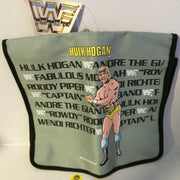 (TAS003051) - WWF WCW WWE Titan LJN Wrestling Bag (Messenger) - Hulk Hogan Rare!, , Clothing & Accessories, Wrestling, The Angry Spider Vintage Toys & Collectibles Store