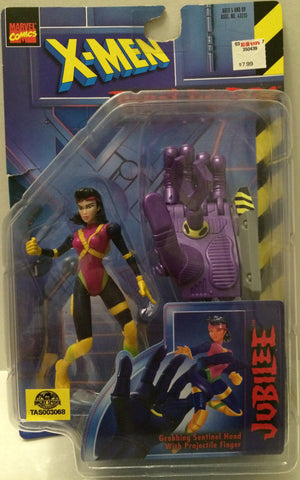 (TAS032065) - Toy Biz Marvel Comics X-Men Action Figure - Jubilee, , Action Figure, X-Men, The Angry Spider Vintage Toys & Collectibles Store