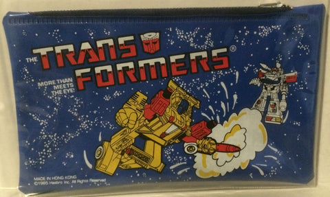 (TAS003072) - 1985 Hasbro Transformers More Than Meets The Eye Pencil Pouch, , Pencil, Transformers, The Angry Spider Vintage Toys & Collectibles Store