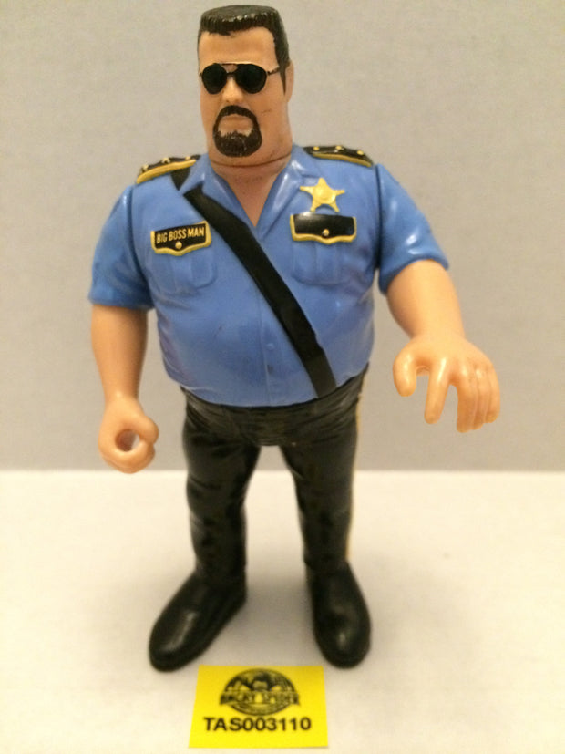 (TAS003110) - WWE WWF WCW NWO LJN Hasbro Wrestling Figure - The Big Boss Man, , Action Figure, Wrestling, The Angry Spider Vintage Toys & Collectibles Store
