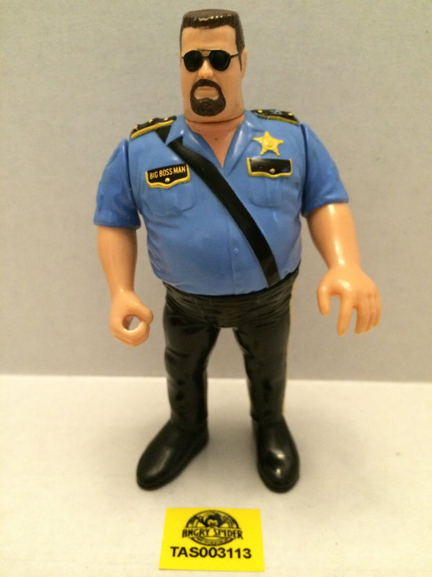 (TAS003113) - WWE WWF WCW NWO LJN Hasbro Wrestling Figure - The Big Boss Man, , Action Figure, Wrestling, The Angry Spider Vintage Toys & Collectibles Store