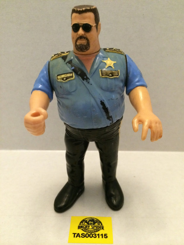 (TAS003115) - WWE WWF WCW NWO LJN Hasbro Wrestling Figure - The Big Boss Man, , Action Figure, Wrestling, The Angry Spider Vintage Toys & Collectibles Store