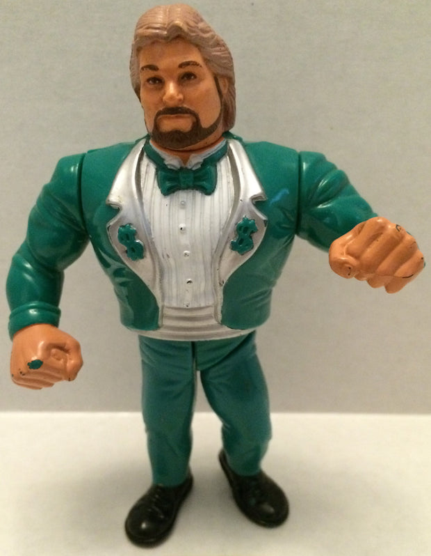(TAS003145) - WWE WWF WCW Hasbro Figure - Green Million Dollar Man Ted Dibiase, , Action Figure, Wrestling, The Angry Spider Vintage Toys & Collectibles Store